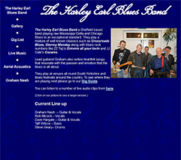 The Harley Earl Blues Band