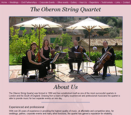 Oberon String Quartet